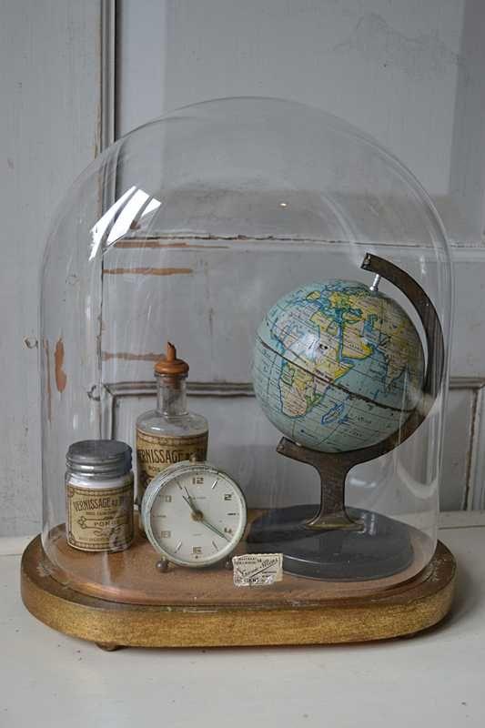 12x inspiratie voor het decoreren van een glazen stolp for Decoratie spullen