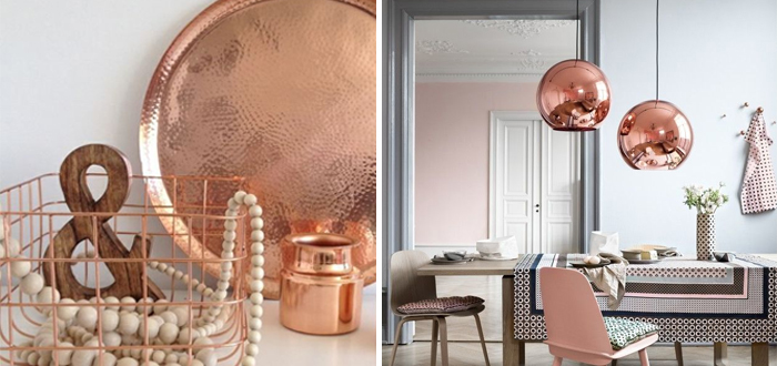 Interieur trend koper in je huis gaaf ladify for Interieur accessoires online