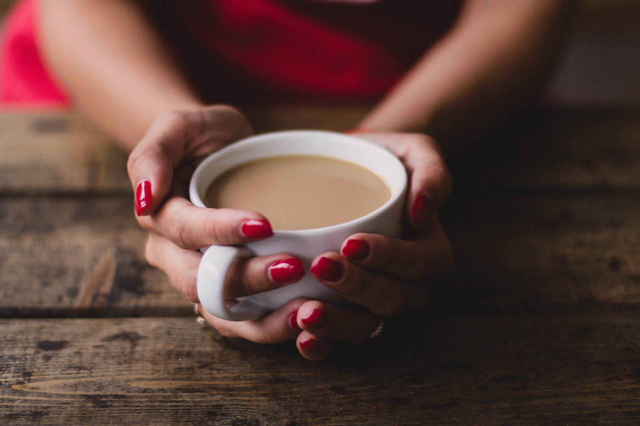 Eén kopje koffie